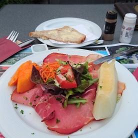 Meloen met Ardenner ham