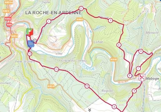 Route TdF 13km